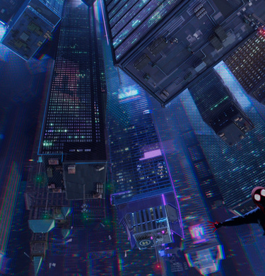 SPIDER-MAN: INTO THE SPIDER-VERSE hero banner